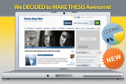 Thesis Skin for Internet Marketers and Multi-Authors Blogs
