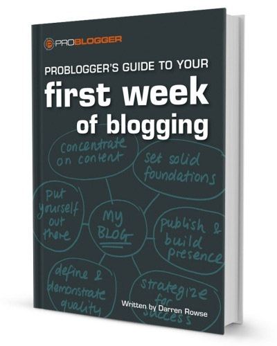 first week of blogging